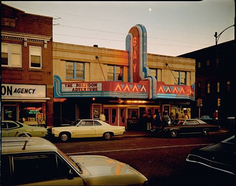 second street, ashland, wisconsin, july 9, 1973 by stephen shore