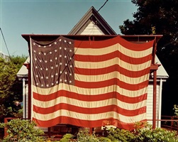 flag, provincetown, july 4th, 1983 by joel meyerowitz