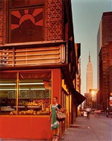 young dancer, 34th street and 9th avenue, new york city, 1978 by joel meyerowitz