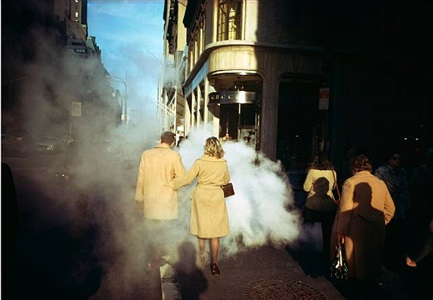 camel coats, 5th avenue, new york city, 1975 by joel meyerowitz