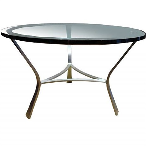 glass top table by john vesey
