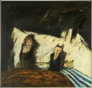 the fright by john bellany