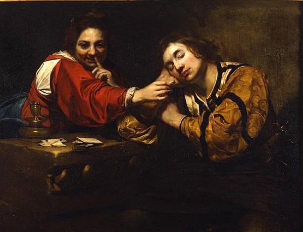 scena di carnevale by nicolas regnier