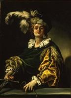 david (eseguito 1625 ca.) by claude vignon
