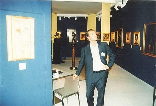 abbildung stand ron krausz - kunstmesse münchen 2004