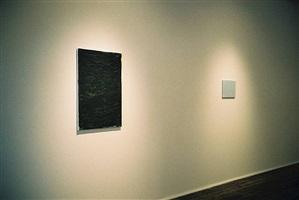 front room, john zurier (left) john zurier (right), 'john zurier, robert ryman, joseph marioni: painting' 2/15/02 - 4/20/02 by john zurier