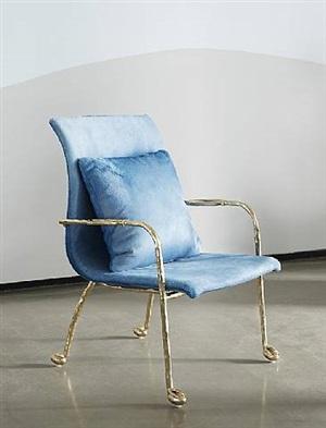 """baron"" armchair by mattia bonetti"