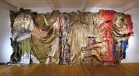 in the world, but don't know the world? by el anatsui