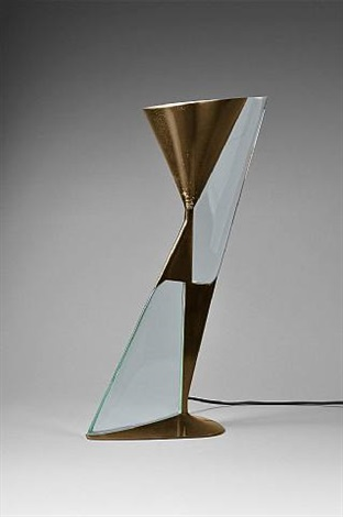 "lampe ""diabolo"" / ""diabolo"" table lamp by max ingrand"