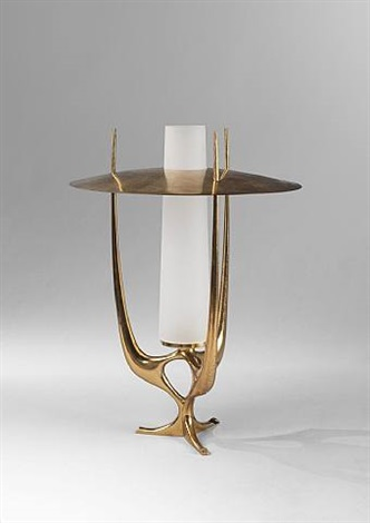 lampe / table lamp by max ingrand