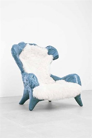 fossil chair by atelier van lieshout