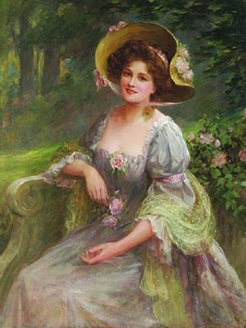 a summer afternoon in the garden by sydney percy kendrick