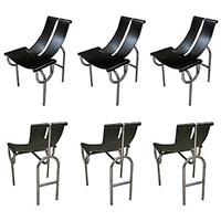 dining chairs tri 15 by roberto gabetti and almaro isola