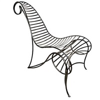 spine chair by andré dubreuil