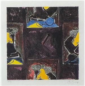 untitled 1988 by jasper johns