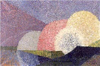 paysage by claude meroville