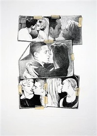 kiss (couples) by jonathan santlofer