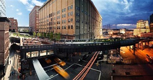 the high line, new york, 2009 by stephen wilkes