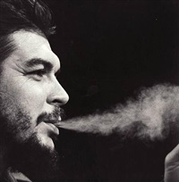 che guevara on cbs' face the nation, 1964 by irving haberman