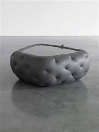 trapezoid bomb / coffee table by robert stadler