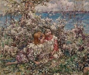 springtime by edward atkinson hornel