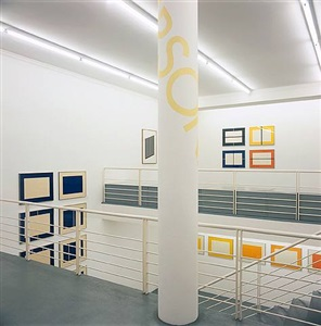 installation view by donald judd