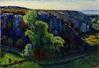 dans les ocres, 1906 by rené auguste seyssaud