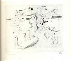 daphnis & chloe by joan miró