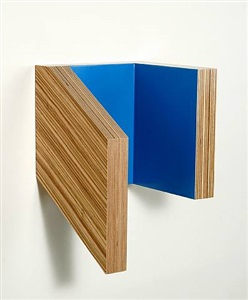 blue cube #1 by richard bottwin