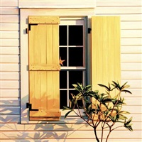 key west, yellow shutters by roger hayden johnson