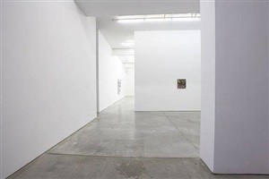 exhibition view: entryway