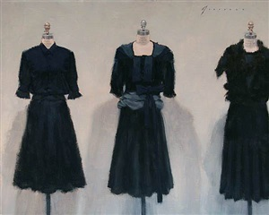 three dresses (sold) by vincent giarrano
