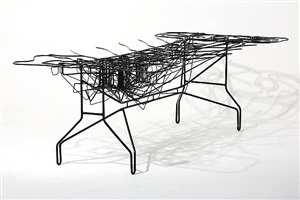 infrastructure coffee table by atelier van lieshout