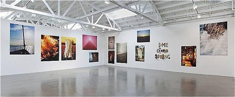 installation view: some other spring