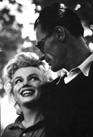 connecticut, marilyn monroe and arthur miller by ken heyman