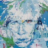 andy warhol by ren zhenyu
