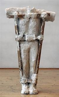 plaster body 3 by magdalena abakanowicz