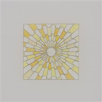 Untitled (shades of yellow in a serpentine..., 2009