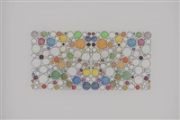 Untitled (72 colors in a circular grid,..., 2009