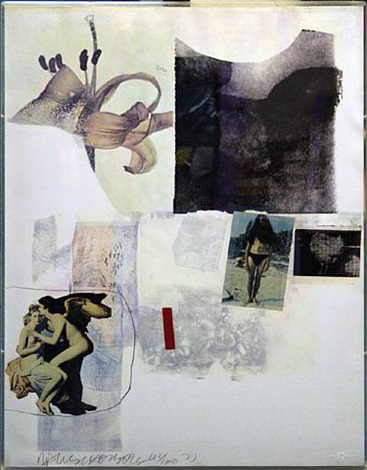 unknown by robert rauschenberg