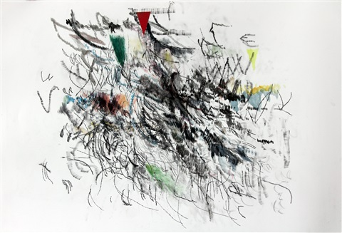 cue benefit auction untitled by julie mehretu