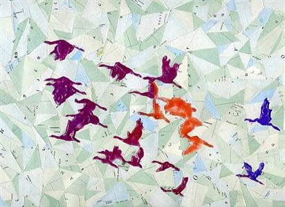 drift, cranes by john corbin
