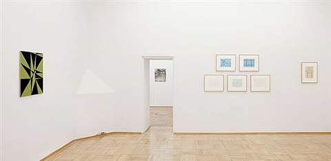 exhibition view by helmut federle