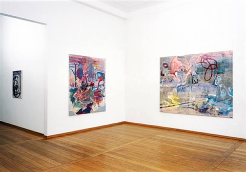 installation view by markus oehlen