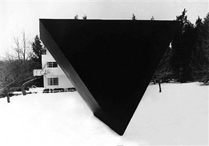 black triangle (monumental) by ronald bladen