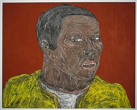 untitled (mercenary) by leon golub