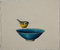 untitled (blue bowl) by david kroll