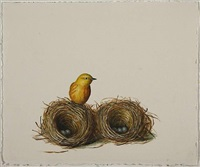 untitled (yellow bird) by david kroll