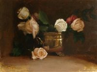 roses and brass (sold) by lisa gloria