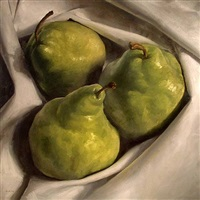 cozy pears by michael naples (sold)